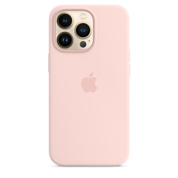 Silicone case на iPhone 13 Pro (Chalk Pink)