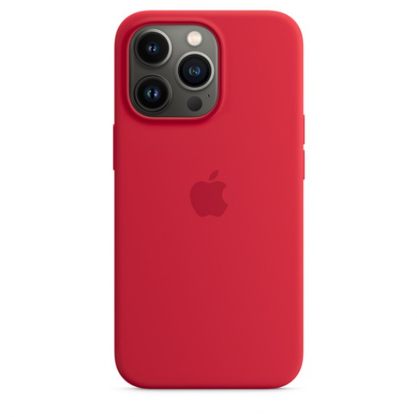 Silicone case на iPhone 13 Pro Max (PRODUCT)RED