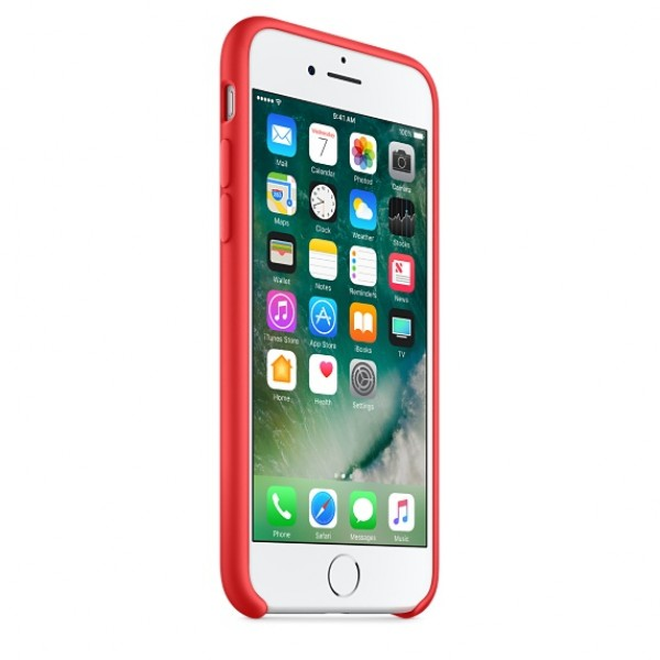 Silicone case на iPhone 7/8/SE2 Class 1 (Red)