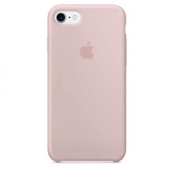 Silicone case на iPhone 7/8/SE2 Class 1 (Pink Sand)