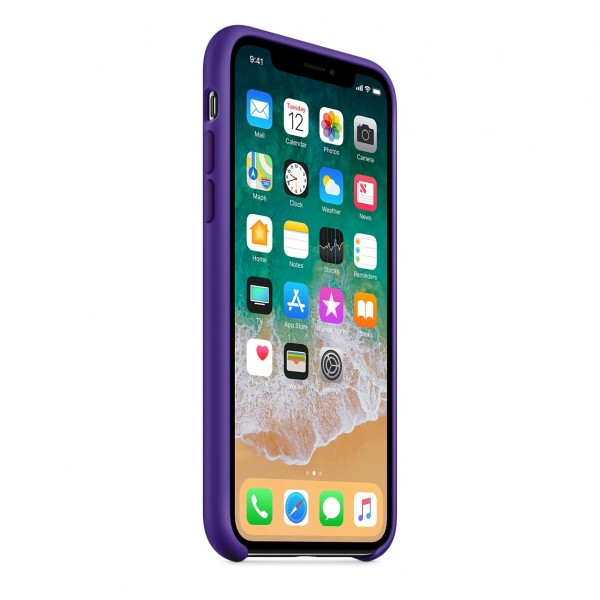 Silicone case на iPhone X/Xs Class 1 (Ultra Violet)