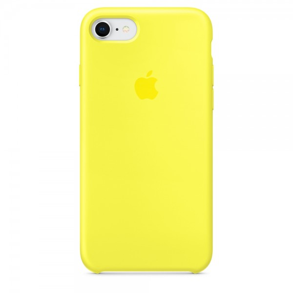 Silicone case на iPhone 7/8/SE2 Class 1 (Canary Yellow)