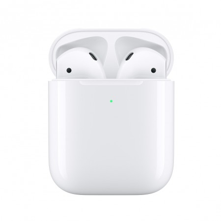 Беспроводные наушники Apple AirPods 2 (2019) with Wireless Charging Case (MRXJ2)