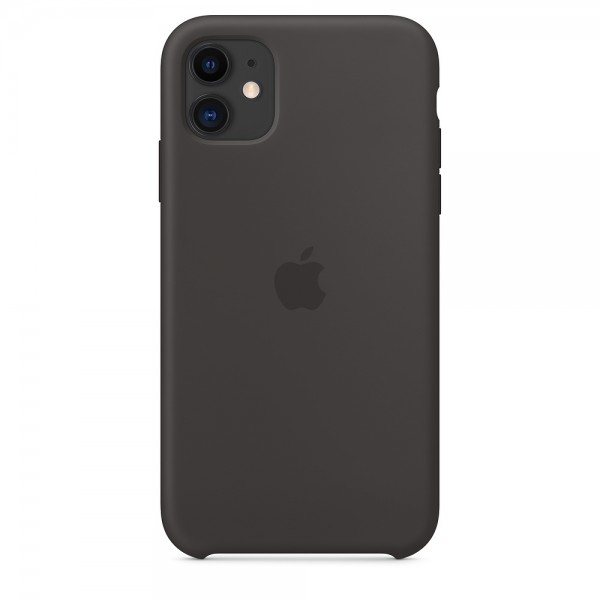 Silicone case на iPhone 11 (Black)
