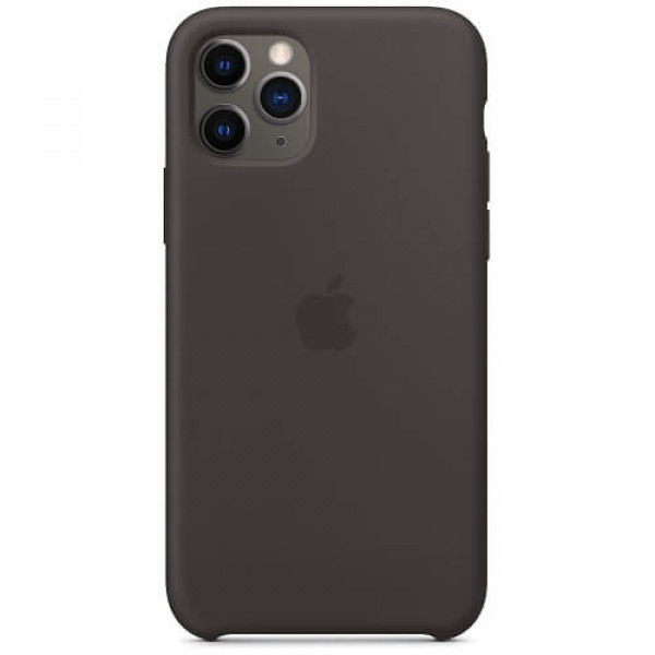 Silicone case на iPhone 11 Pro (Black)