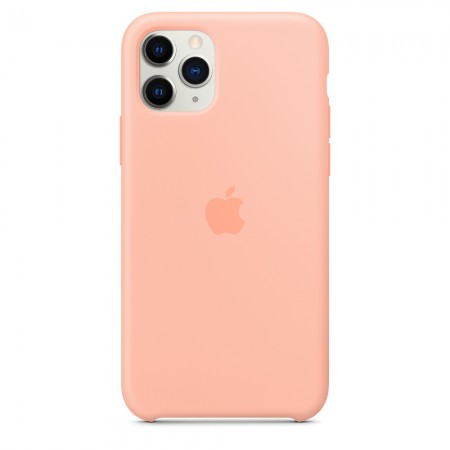 Silicone case на iPhone 11 Pro Max (Grapefruit)