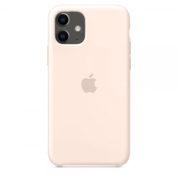Silicone case на iPhone 11 (Pink Sand)