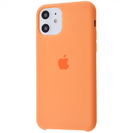 Silicone case на iPhone 11 Class 1 (Papaya)