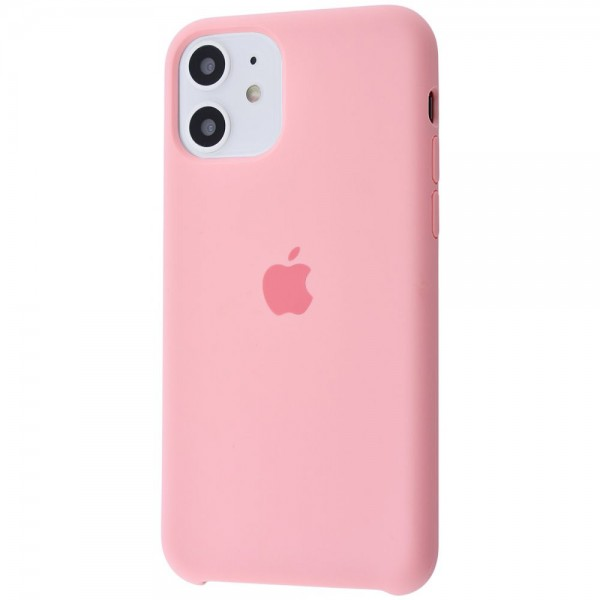 Silicone case на iPhone 11 Class 1 (Pink)