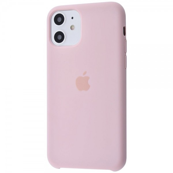 Silicone case на iPhone 11 Class 1 (Pink Sand)