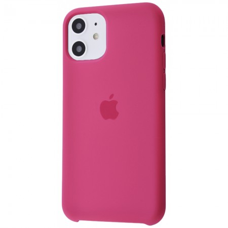 Silicone case на iPhone 11 Class 1 (Pomegranate)