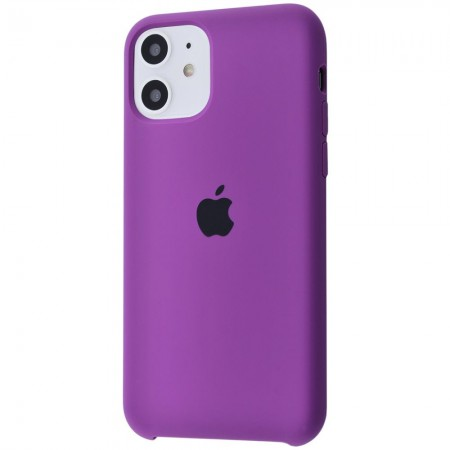 Silicone case на iPhone 11 Class 1 (Purple)