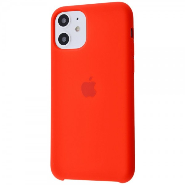 Silicone case на iPhone 11 Class 1 (Red)