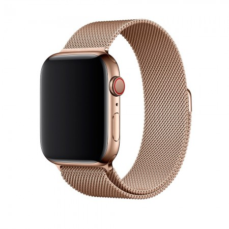 Ремешок Apple Watch Milanese Loop 38mm/40 mm (Gold)