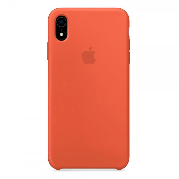 Silicone case на iPhone Xr Class 1 (Nectarine)