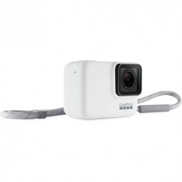 Чехол + ремешок GoPro Sleeve & Lanyard (White)