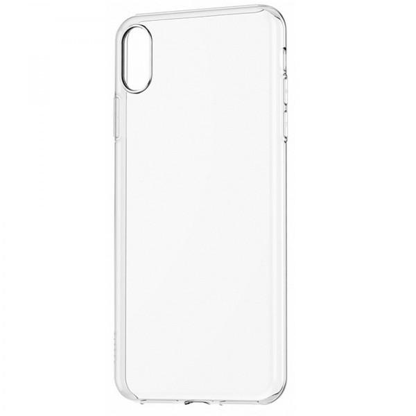 Силиконовая накладка Baseus Simplicity Series для iPhone X/Xs (Прозрачный)