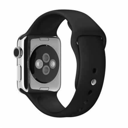 Apple Sport Band for Apple Watch 42mm/44mm (Black)