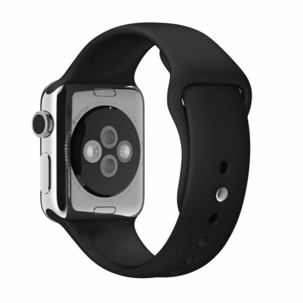 Apple Sport Band for Apple Watch 38mm/40mm (Black)