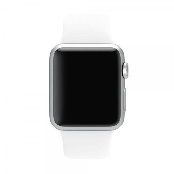Apple Sport Band for Apple Watch 38mm/40mm (White)