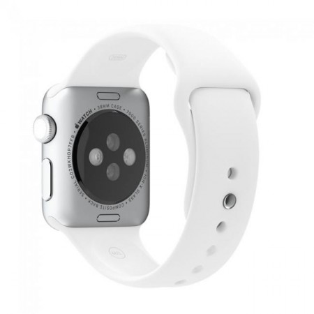 Apple Sport Band for Apple Watch 42mm/44mm (White)