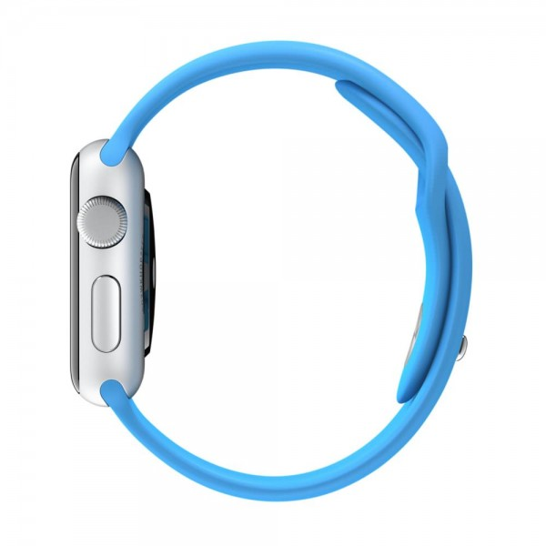 Apple Sport Band for Apple Watch 38mm/40mm (Blue)