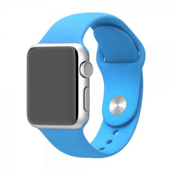 Apple Sport Band for Apple Watch 42mm/44mm (Blue)