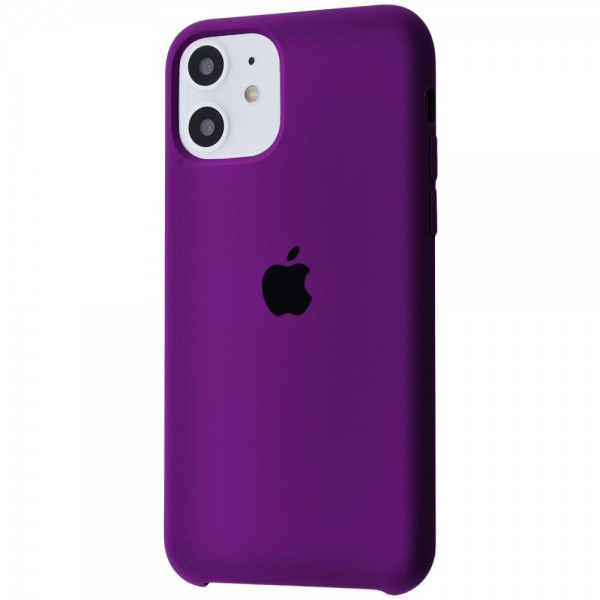Silicone case на iPhone 11 Class 1 (Ultra violet)
