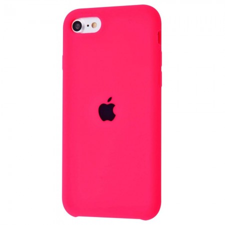 Silicone case на iPhone 7/8/SE2 Class 1 (Bright Pink)