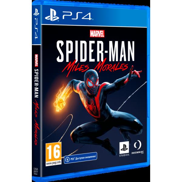 Диск Marvels Spider-Man: Miles Morales (Русская версия) (PS4)