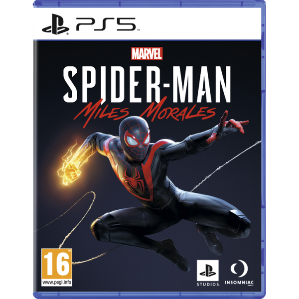 Диск Marvels Spider-Man: Miles Morales (Русская версия) (PS5)