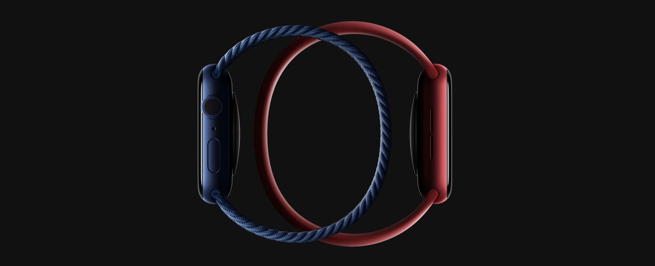 монобраслет для Apple Watch Series 6 40mm (PRODUCT)RED Aluminum Case with Red Sport Band (M00A3)